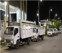معدات بـ5 ملايين جنيه لدعم منظومة النظافة في بني سويف