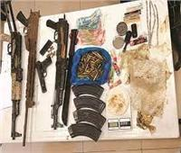 كوكتيل مخدرات وسلاح بحوزة 102 شخص بالجيزة