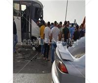 مصرع شخصين وإصابة 48 آخرين في حادث تصادم بالعاصمة الإداريةالجديدة