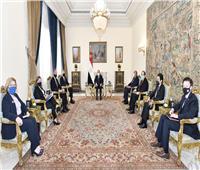 الرئيس السيسي يستقبل أنتوني بلينكن وزير الخارجية الأمريكي