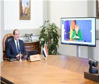 ميركل للسيسي: ألمانيا تعتز بروابط الصداقة التي تجمعها مع مصر