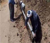 تركيب وصلات مياه مجانية للأسر الاكثر احتياجًا بمطروح