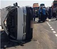 مصرع وإصابة ١٠ مواطنين في حادث سير بوسط سيناء