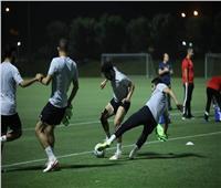 السوبر الإفريقي| تقسيمة قوية بين اللاعبين في مران الأهلي