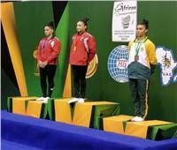 زينة إبراهيم لاعبة الجمباز تتاهل لأولمبياد طوكيو