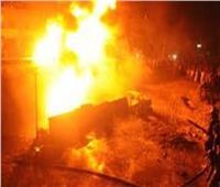 السيطرة على حريق نشب بمصنع أدوية بأكتوبر