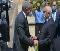 محافظ بور سعيد يستقبل وزير التموين لافتتاح المركز النموذجي