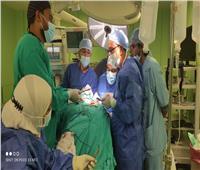 مستشفى جامعة أسوان تستئصل ضلعًا زائدًا برقبة مريض