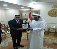 سفير الإمارات من مطروح: مصر تشهد طفرة تنموية في جميع المجالات