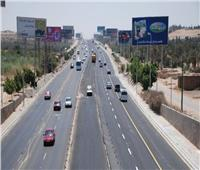 خدمات مرورية مكثفة أثناء صيانة «فاصل» أعلى محور 26 يوليو
