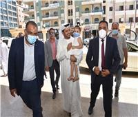 سفير الإمارات بالقاهرة يتفقد المعالم السياحية في مطروح
