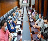 سكرتير عام محافظة الدقهلية يرأس اجتماع لجنة تطوير المناطق العشوائية