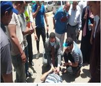 وكيل صحة المنوفية ينقذ شابًا ابتلع لسانه بمدينة شبين الكوم