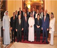تركي آل الشيخ يلتقي وزيرة الثقافة والإعلاميين في السفارة السعودية