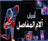 إنفوجراف | أسباب آلام المفاصل والعظام