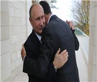 بوتين يهنئ الأسد بفوزه في الانتخابات الرئاسية
