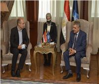 الفريق أسامة ربيع يستقبل سفير المجر لتعزيز سُبل التعاون المشترك