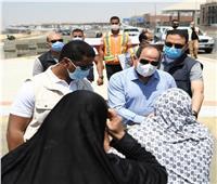 نقل سيدة التقاها الرئيس خلال جولته اليوم لتلقي العلاج بمستشفى معهد ناصر
