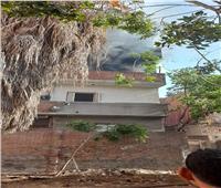 إخماد حريق بشقة سكنية في كفر الزيات