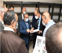 وزير الإنتاج الحربي يشيد بمعدل الإنجاز بمبنى الوزارة في العاصمة الإدارية