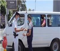 219 محضر كمامات لمواطنين لم يلتزموا بالإجراءات الوقائية في بني سويف