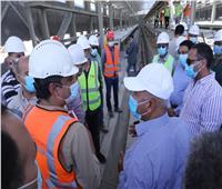 وزير النقل يتفقد مشروع القطار الكهربائي LRT «السلام/ العاصمة الإدارية الجديدة»