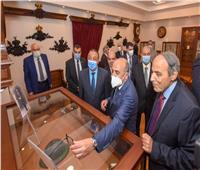 وزير العدل ومحافظ الإسكندرية يفتتحان متحف ومكتبة سراي الحقانية