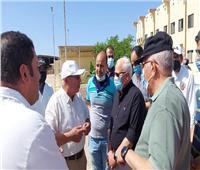 محافظ بورسعيد يتفقد محطة تسمين الماشية.. واستقبال 500 رأس استعدادا للأضحى