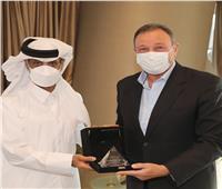 رئيس الاتحاد القطري يهنئ الأهلي بالسوبر الإفريقي