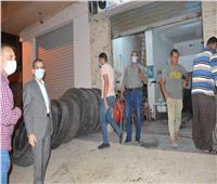 محافظ الغربية : غلق ٢٤ منشأة وتحرير ١٥٩ محضراً لعدم ارتداء كمامة