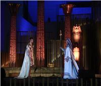 وزيرة الثقافة تشهد عرض مختارات من« أوبرا عايدة»
