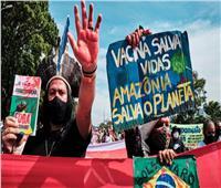 مظاهرات ضخمة في البرازيل ضد رئيس البلاد بسبب كورونا| فيديو وصور