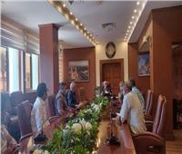 محافظ بورسعيد يتابع تطويرالخدمات المقدمة بمجزر المحافظة