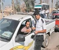 «المرور» تحرر 4114 مخالفة وترصد 2261 سيارة متجاوزة للسرعة