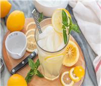 عصائر الديتوكس | عصير «الليمون والفانيلا» المثلج