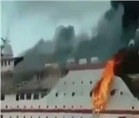 إنقاذ 274 شخصًا بعد اندلاع حريق في عبارتهم بإندونيسيا