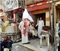 حملة لرفع الإشغالات وإزالة التعديات في بني مزار  بالصور