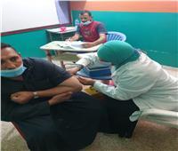 تطعيم 57 ألف مواطن بلقاح كورونا في المنيا