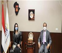 رئيس المجلس القومي للمرأة تلتقي سفير الإمارات بالقاهرة