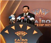 وزير الرياضة: مصر أصبحت مكانا فريدا لاستضافة البطولات العالمية