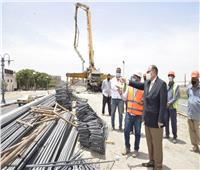 محافظ أسيوط يتفقد أعمال تنفيذ مشروع كوبري المدخل الشمالي