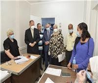 محافظ أسيوط يتفقد عيادات اللجان الطبية بحي شرق للاطمئنان على إجراءات مواجهة كورونا