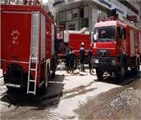 الحماية المدنية تنجح في إخماد حريق مخزن حي الهرم