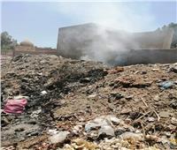 أهالى قرية «محلة مرحوم» بالغربية يستغيثون من تراكم القمامة وسط المقابر