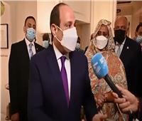 رئيس حكيم وجهود مصر لا تتوقف لمساندة الشعب الفلسطيني  فيديو