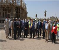 محافظ المنيا يتفقد إنشاء 78 عمارة ضمن «التطوير العمراني »