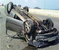 إصابة 7 أشخاص في حادثي تصادم ببني سويف