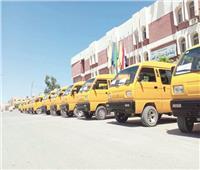 سيارات «فان» لمواجهة التوك توك فى سيناء