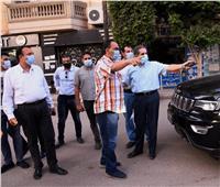 غلق 5 ورش في جولة لمحافظ الغربية بمدينة كفر الزيات