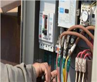 متابعة بلاغات بسرقة تيار كهربائي لعدد من المنازل بالمنيا